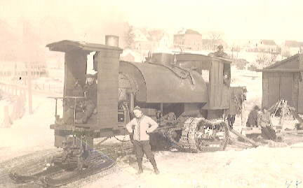 The Lombard Steam Log Hauler